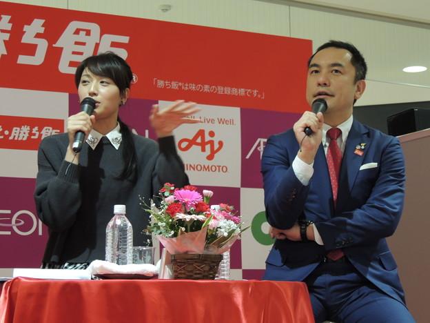浅尾さんと鈴木さん。