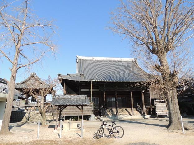 正信寺のお堂。
