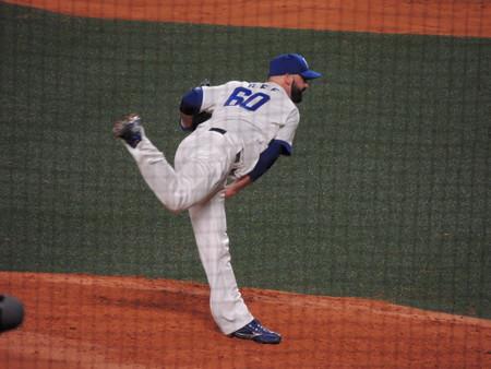 ディロン ジー投手。