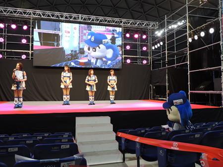 3/10(土) ナゴドのマラソンEXPOでドアラ&チアドラのダンスステージ♪(名古屋PRとかも)。