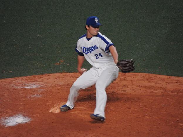 写真: 福谷浩司投手。