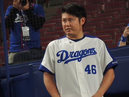 鈴木博志投手。