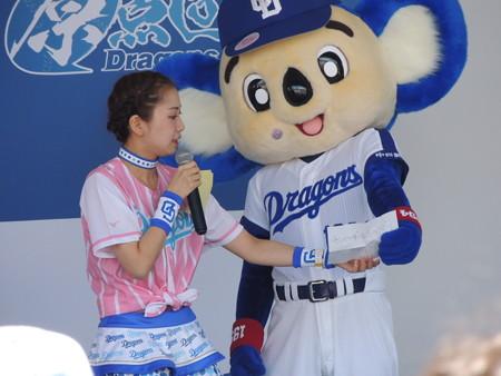 YUKINOさんとドアラ。