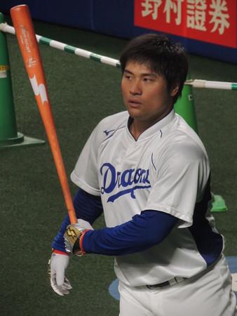 平田良介選手。