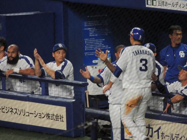 松井雅選手のタイムリー。