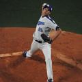 写真: 伊藤準規投手。
