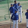 写真: 工藤コーチとか・・・。