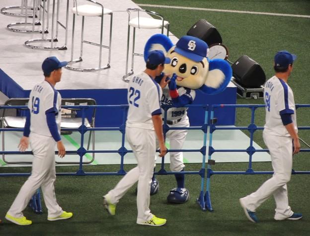 大野選手。