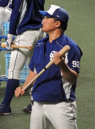 与田剛監督。