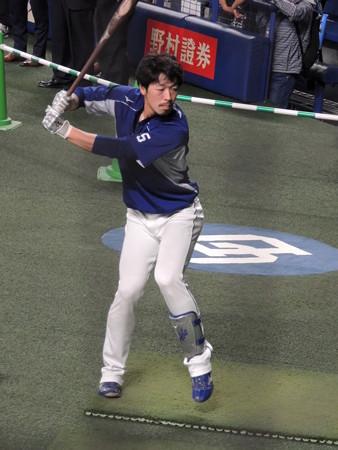 阿部寿樹選手。