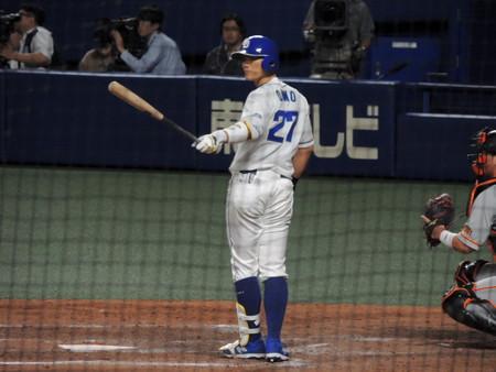 大野奨太選手。