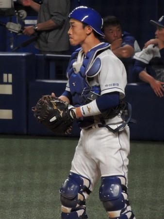 松井雅人捕手。