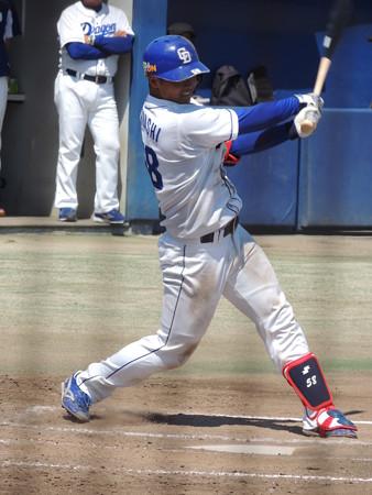 石橋康太選手。