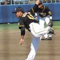 Photos: 高橋聡文選手。