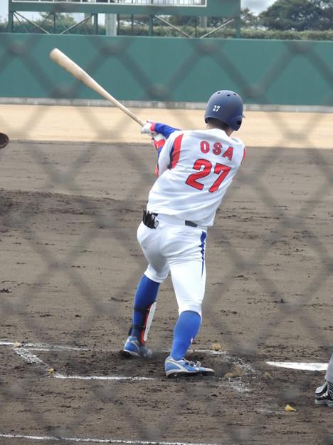Photos: 新入団の長 壱成選手。