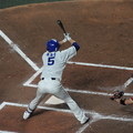 Photos: 阿部寿樹選手。