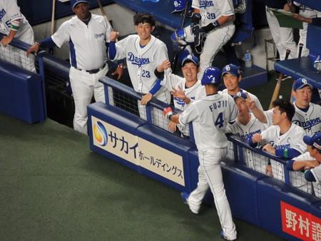 藤井淳志選手が生還。
