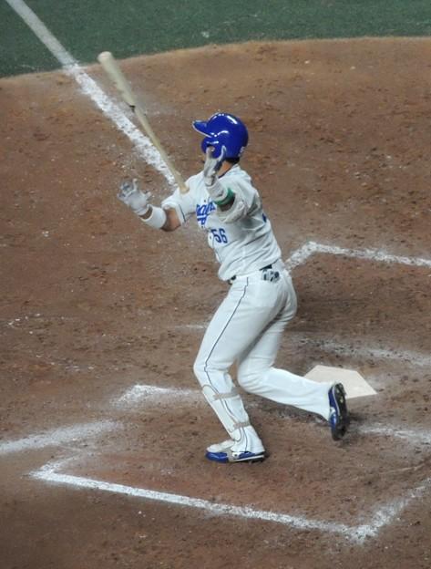 Photos: 松井佑介選手。