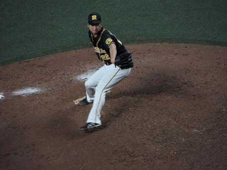 藤川球児投手。