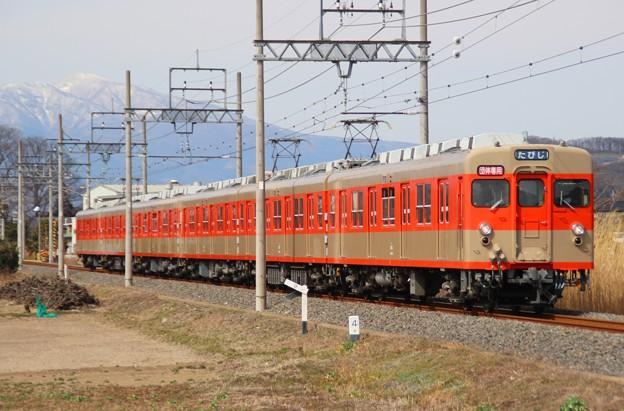 臨5869レ 8111F 団体臨時列車(2015/2/28 治良門橋-藪塚間にて)