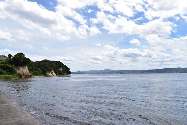 写真: 宍道湖