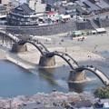 城から錦帯橋