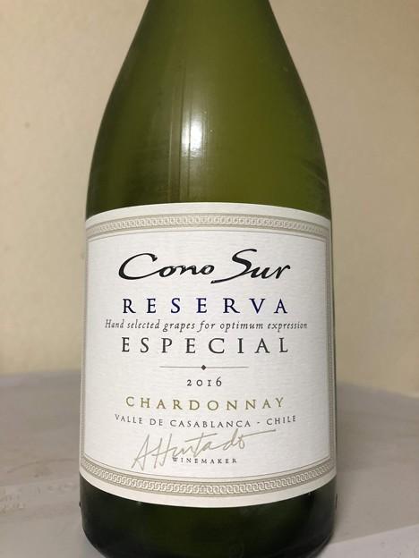 写真: Cono Sur Reserva Especial Chardonnay 2016
