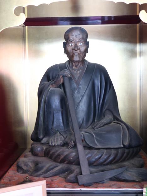 千光寺・本堂(角倉了以像)