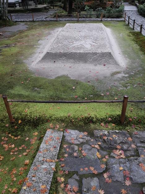 法然院・白砂壇3