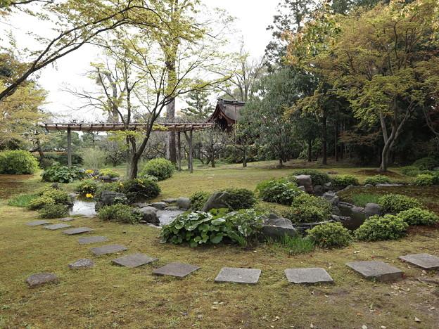 城南宮・平安の庭(遣り水)