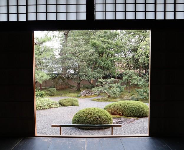 春光院・方丈南庭(額縁)1