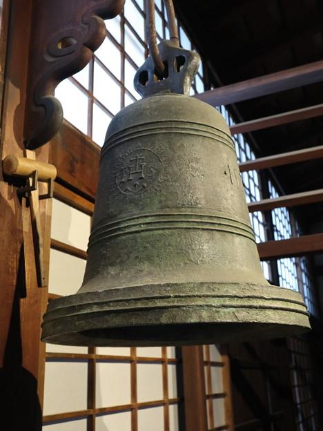春光院・南蛮寺の鐘1
