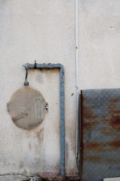 Photos: 何かの痕跡?