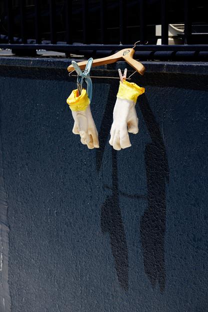 休日の手袋