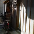 写真: 玄関横の傘