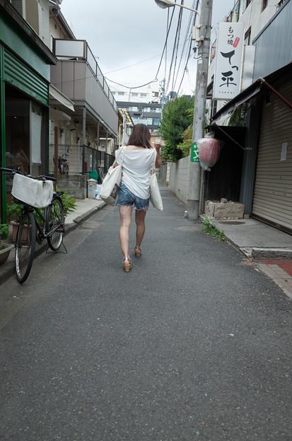 路地を行く