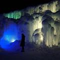 写真: 支芴湖 冰濤祭