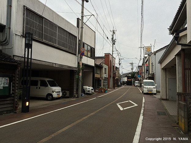 2015年11月7日、飯田町商店街