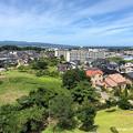 Photos: 柳田布尾山古墳から氷見市一望