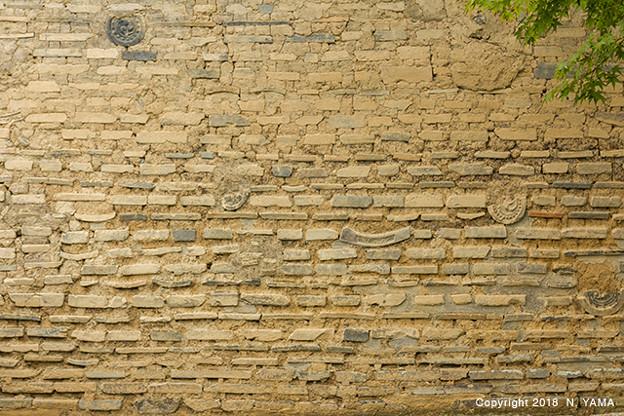天龍寺 土塀