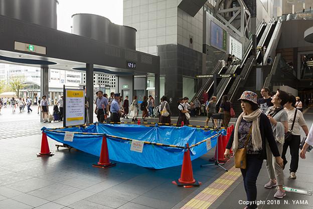 2018年9月7日、京都駅