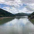 写真: 2018年9月22日、手取川ダム湖