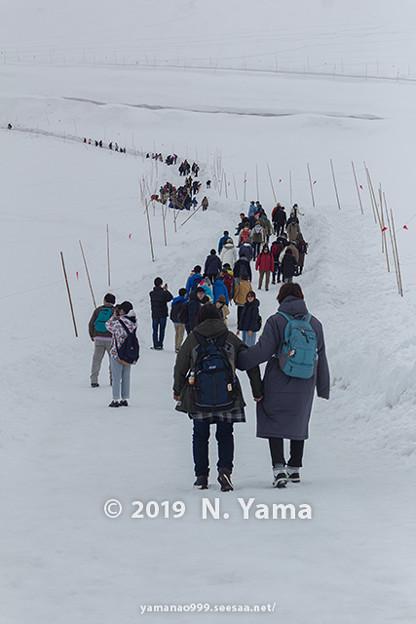 雪の大谷ウォーク 2019