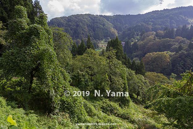 2019年9月16日、金沢市里山風景