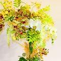 1.華やかな蘭のアート -A