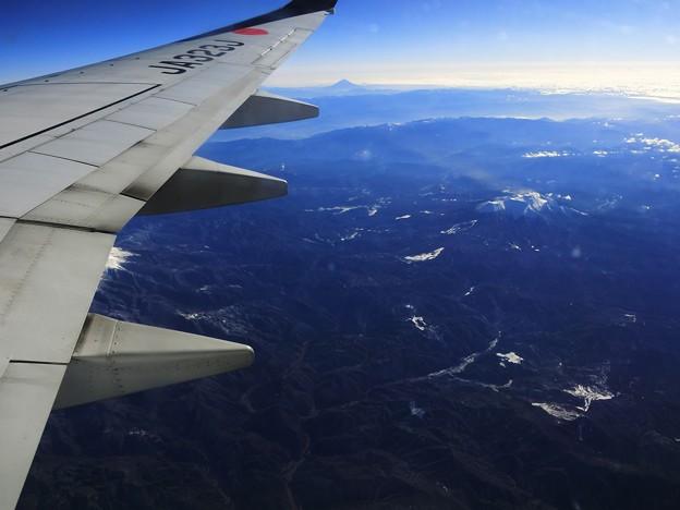 富士山と御嶽山