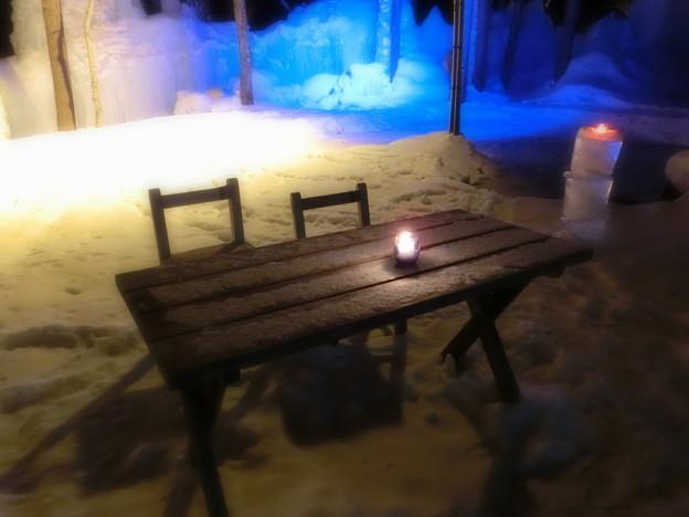Photos: 氷点下のキャンドル