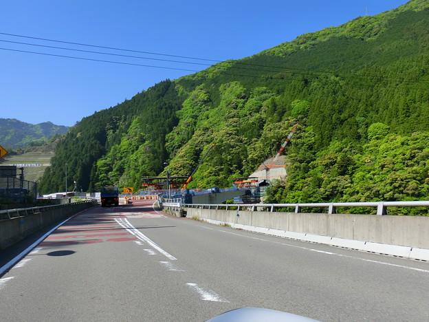 R168トンネル掘削中