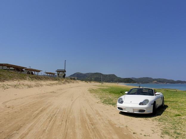 葛野浜海水浴場西側