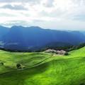 写真: 曽爾高原全景